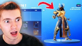 FORTNITE-NEW SEASON 7 (BOUGHT SKIN LEVEL 100) - Légendaire