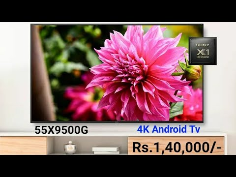 Sony Bravia 55 inches 4K UHD Android LED TV KD-55X9500G Unboxing