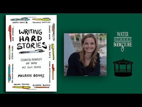 Melanie Brooks at the Water Street Bookstore