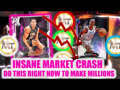 BIGGEST MARKET CRASH EVER! MARKET TALK AND TIPS! DO THIS RIGHT NOW! | NBA 2K20 MY TEAM