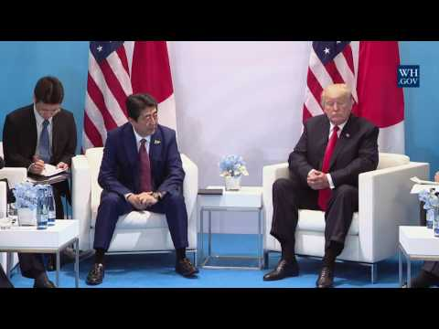 President Trump Participates in an Expanded Meeting with Prime Minister Shinzo Abe of Japan