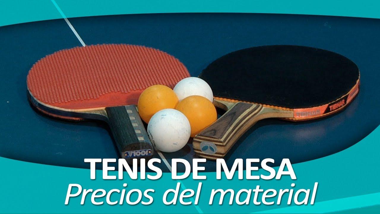 tenis de mesa 3 precios del material youtube