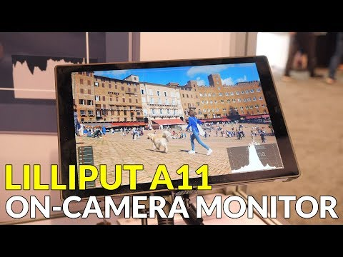 Lilliput A11 On-Camera Monitor With 3D LUTs Support