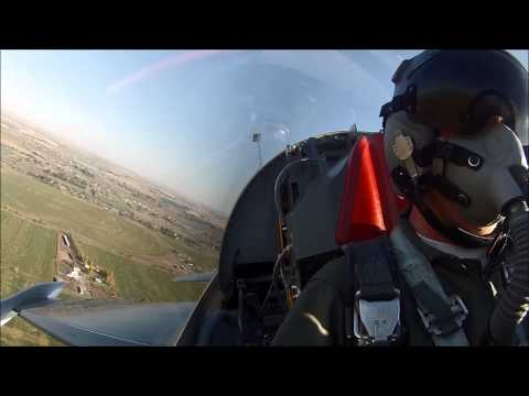 F 5 Aircraft Fighter Jet Aircraft Everett Washington Cascades Moses Lake Blue Sky Pilot