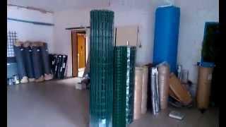 Сетка сварная с полимерным покрытием в Запорожье(, 2014-09-24T13:19:23.000Z)
