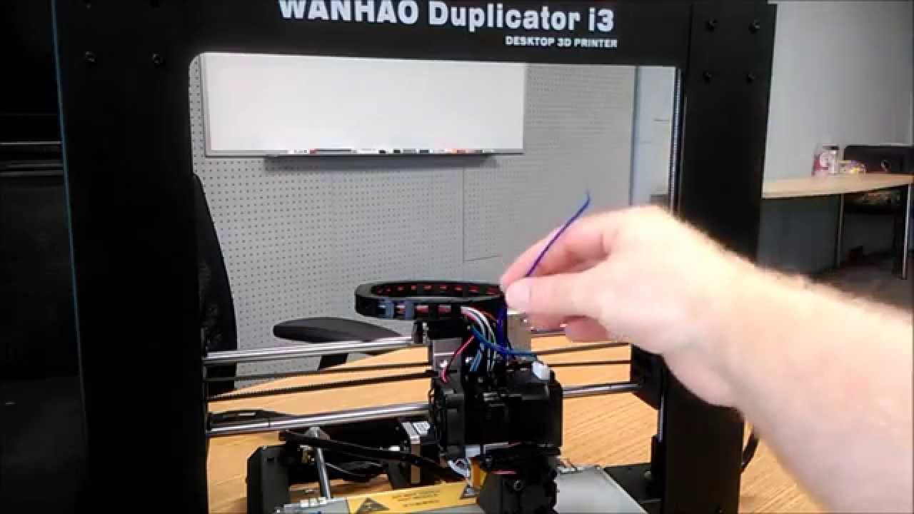 Wanhao Duplicator I3 Heater Wire Problem  Causing Feeder