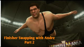 wwe 2k14   finisher swapping w andr the giant part 2