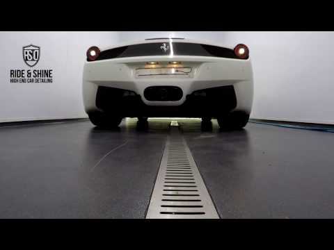 High End Car Detailing Ferrari 458 Spider Supreme Detail with Modesta PD Coating (long version)
