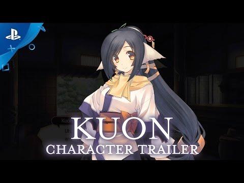 Utawarerumono: Mask of Deception - Kuon Character Trailer | PS4, PS Vita