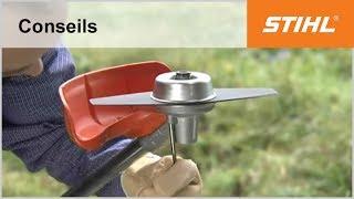 Couteau STIHL duro broyeur largeur 270 mm (pièce d'origine)