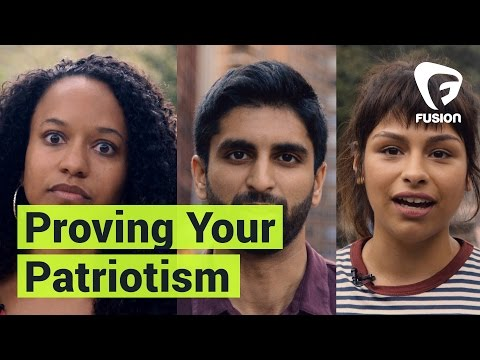 When You Have To Prove Your Patriotism In The United States