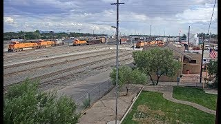 Belen, New Mexico USA - Virtual Railfan LIVE