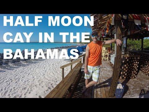 Half Moon Cay Private Beach in the Bahamas