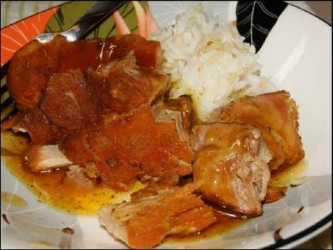 Paleo Okinawa Shoyu Pork