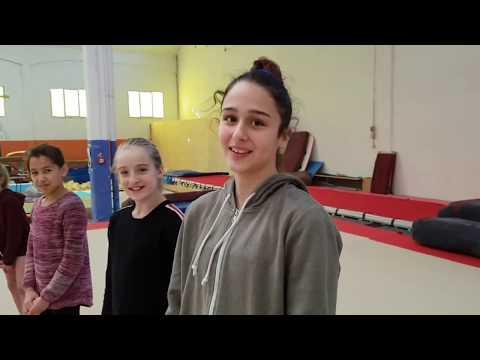 TANTI AUGURI DEBORAH ❤❤❤ REGINA REGINELLA GINNASTA CSB compleanno in palestra ginnastica artistica