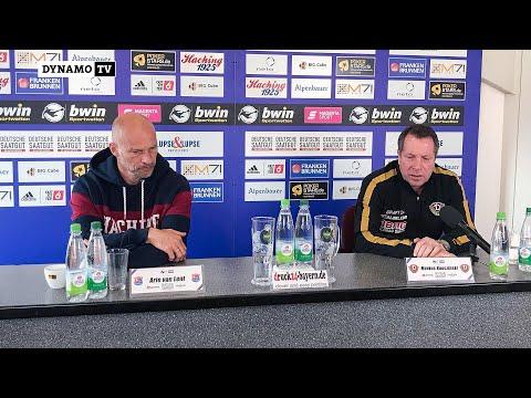 31. Spieltag   UHG - SGD   Pressekonfernz nach dem Spiel