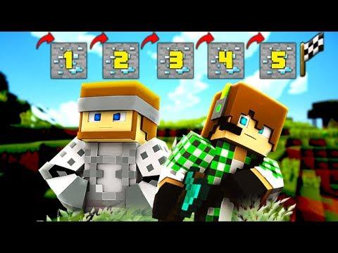 Minecraft: 5 SALTI per VINCERE! (QUASI IMPOSSIBILE) w/Surry