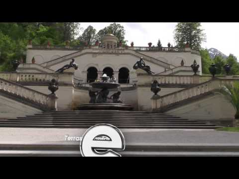 Schloss Linderhof - Das Märchenschloss Von Ludwig II (Замок Линдерхоф - Сказочный замок Людвига II)