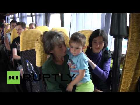 Russia: Shelled Donetsk border crossing resumes operations