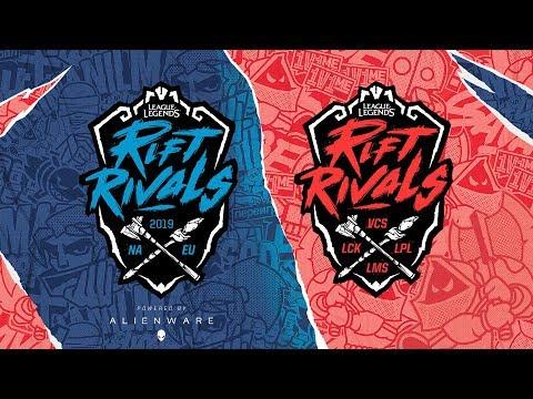 (REBROADCAST) Day 1   Rift Rivals: NA vs. EU (2019)