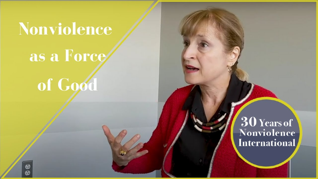 Nonviolent Action as a Force of Good | Shaazka Beyerle