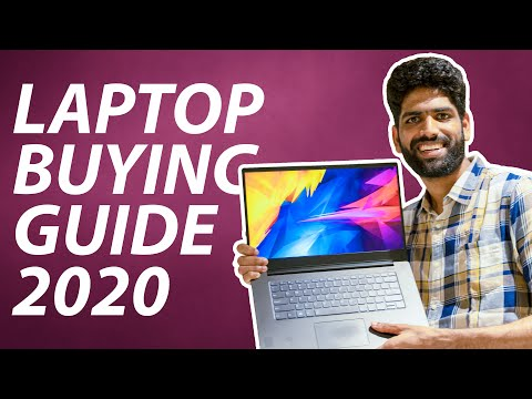 THE ULTIMATE LAPTOP BUYING GUIDE 2020 (INDIA)