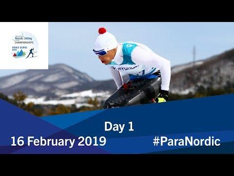 Day 1 | 2019 World Para Nordic Skiing Championships | Prince George