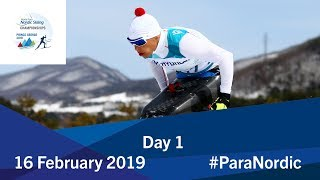 Day 1 | 2019 World Para Nordic Skiing Championships | Prince George