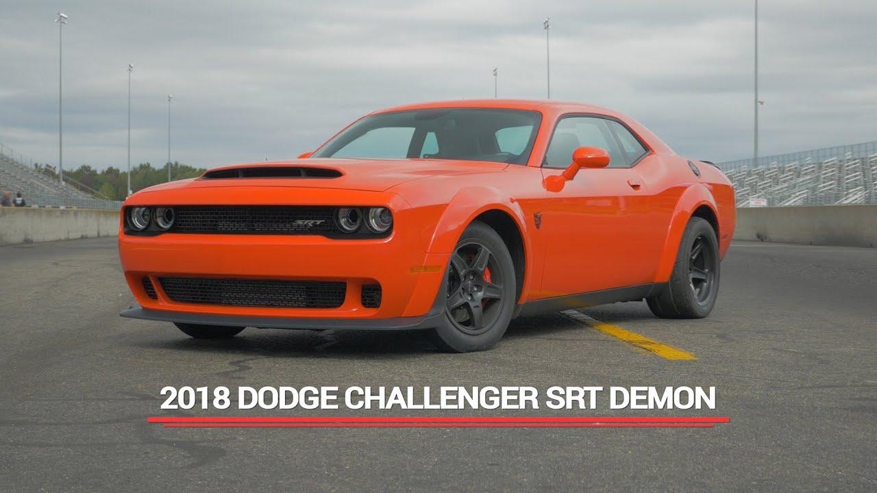 2018 Dodge Challenger Srt Demon Review Youtube