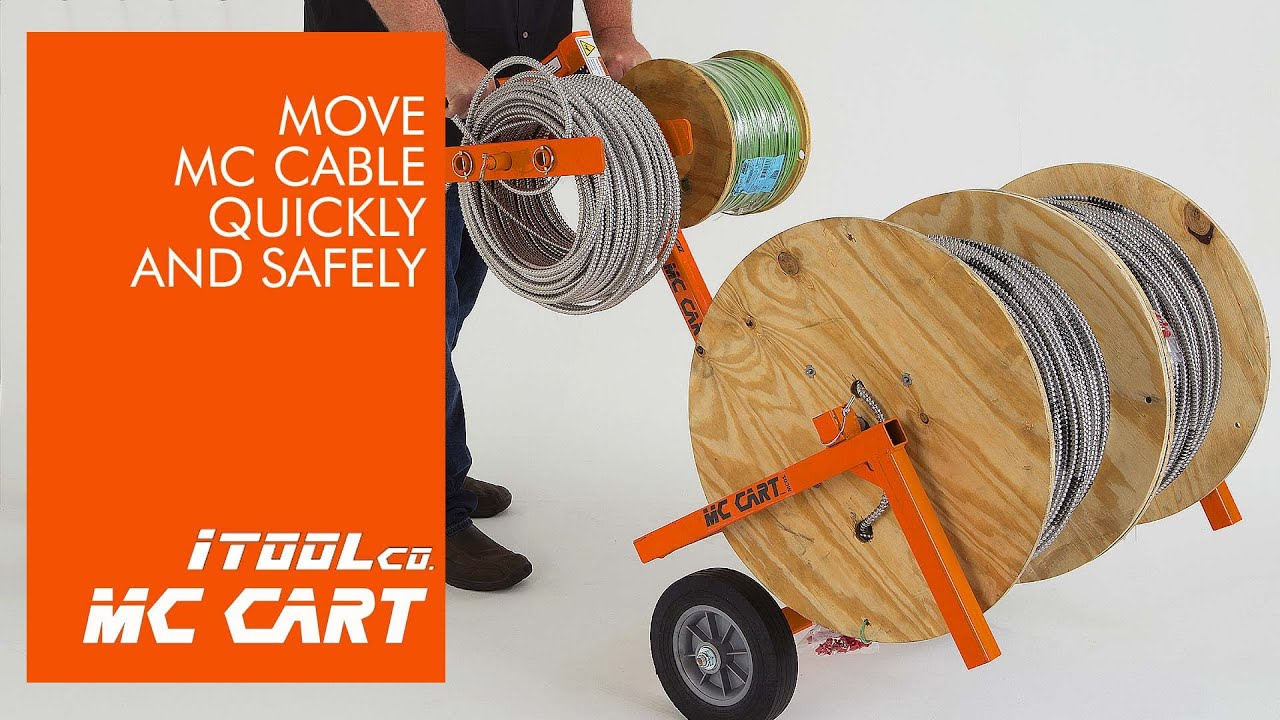 MC Cart -the Material Handling Cart from iTOOLco - YouTube