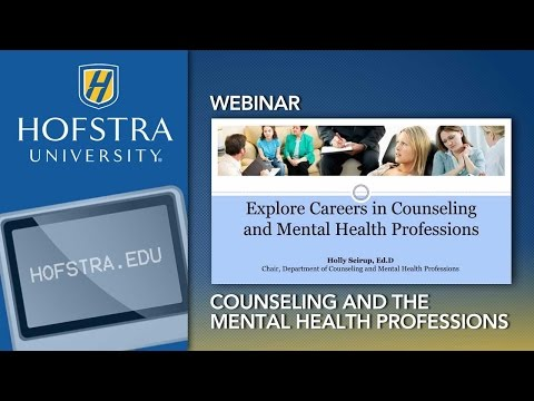 Explore Careers in Counseling and the Mental Health Professions