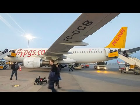 Thumbnail: TRIP REPORT | Pegasus Airlines | MUC-SAW | Economy | Epic View