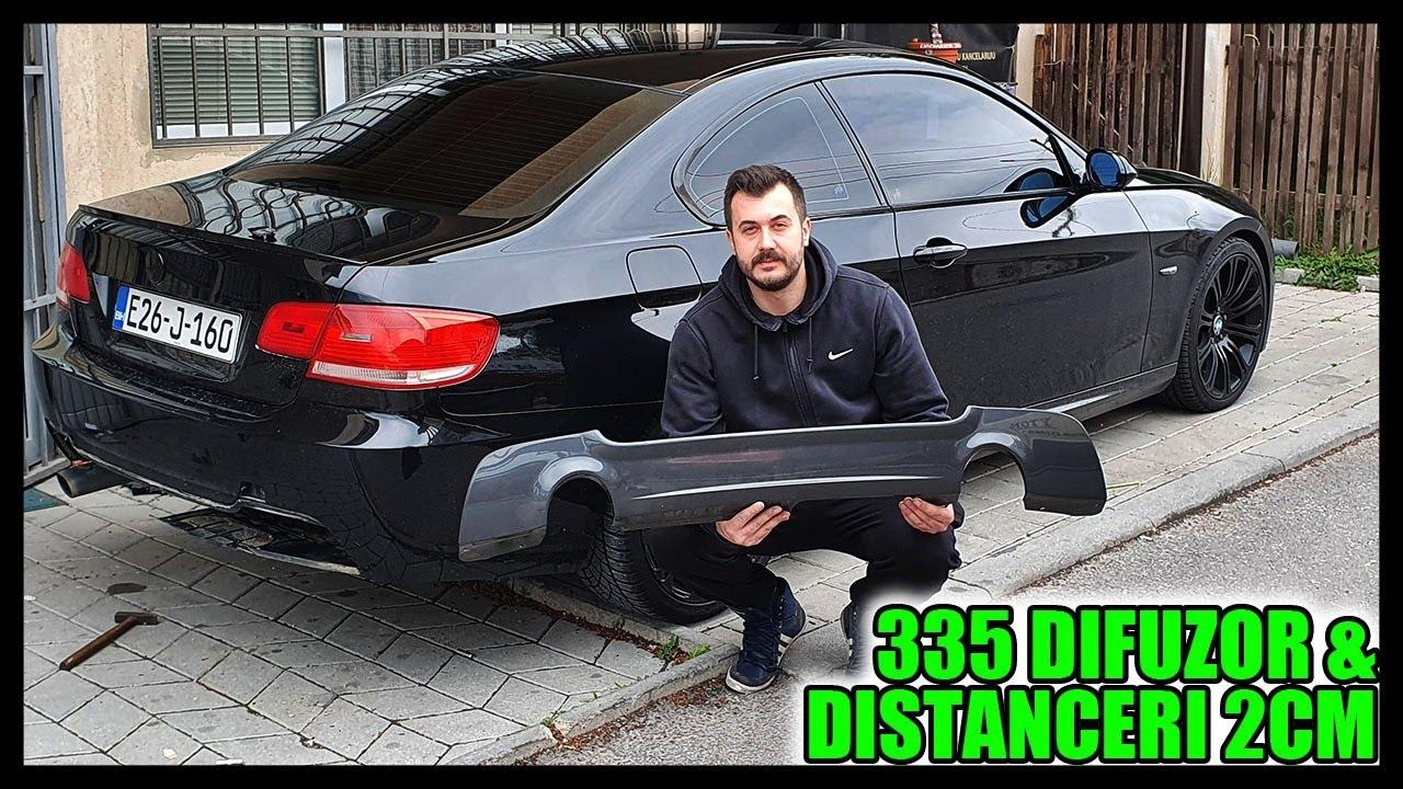 ŠIRENJE BMW-A I UGRADNJA DIFUZORA SA DVA IZDUVA!