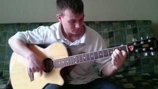 �������� ���� Прощание славянки на гитаре ������