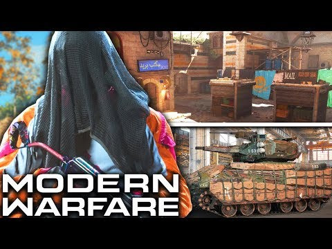 Modern Warfare: NEW Map, New Modes, & More REVEALED!