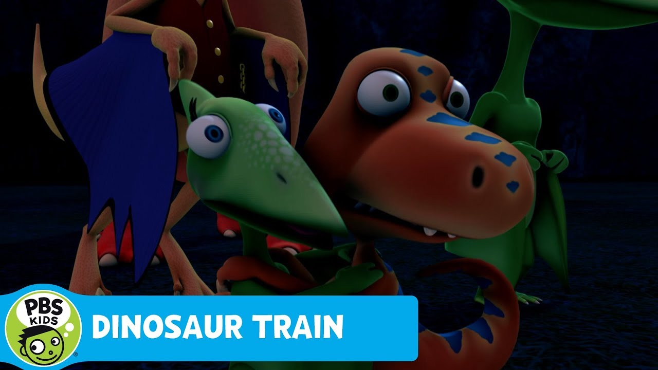 DINOSAUR TRAIN | Mr. Conductor Gets Spooked | PBS KIDS ...