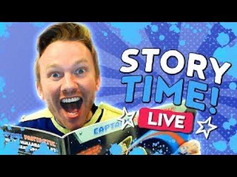Captain Fantastic Story Time - Tyrannosaurus Drip