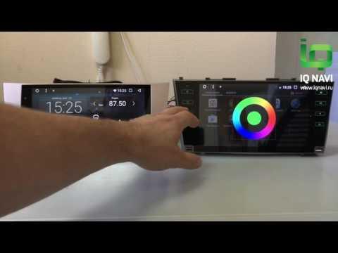 Обзор и сравнение магнитол на Андроиде IQ NAVI T44-2902 Toyota Camry XV40 (2006-2011)