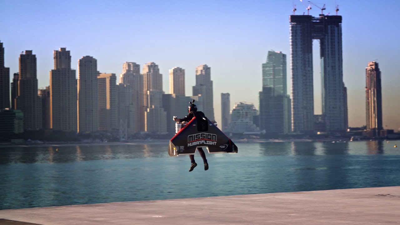 Jetman Dubai Takeoff - 4K - YouTube