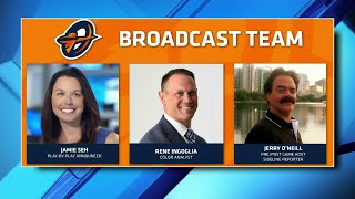 News 6 sports director to serve as play-by-play announcer for Orlando Apollos