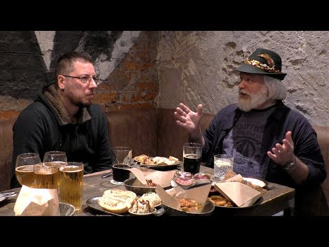 Дегустация пива в баре Герои
