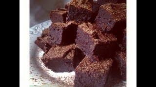 Gooey Flourless Fudge Brownies