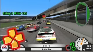 Nascar 07 PPSSPP Gameplay Glitchy Full HD / 60FPS