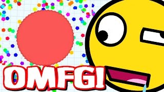 agar io what the heck is this thing agar io funny moments gameplay walkthrough part 12