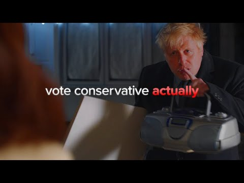 Boris Johnson's funny Love Actually parody | Our final election broadcast