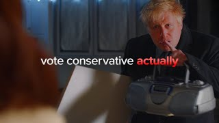 Boris Johnson's funny Love Actually parody   Our final election broadcast