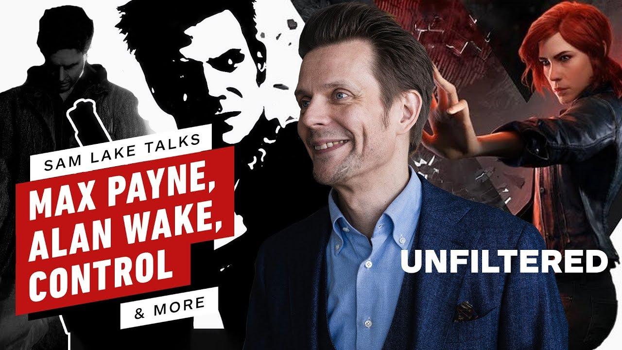 Sam Lake auf Alan Wake 2, Kontrolle, Wie Max Payne sein Leben veränderte und mehr! - IGN ungefiltert 44 + video