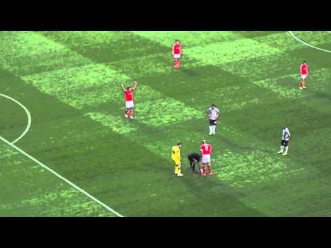 Parte final do jogo e CAMPEÕES! Benfica 2 x 0 Olhanense
