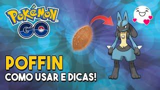 Como usar o POFFIN e DICAS de como aumentar o nível do seu BUDDY!  Pokémon GO