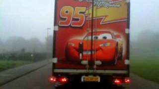 cars mack sv transport alkmaar disney pixar v8 power